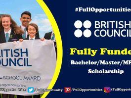 Pakistan Scottish Scholarship Program