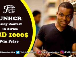 UNHCR Essay Contest 2019 in Africa