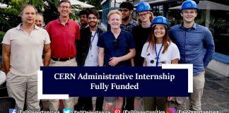 CERN Administrative Student Internship