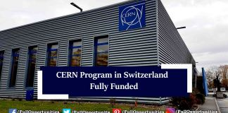 CERN Technical Students Program in Switzerland 2019