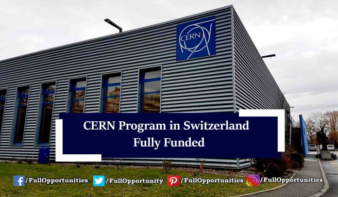 CERN Technical Students Program in Switzerland 2019