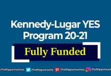 KENNEDY Lugar YES Program