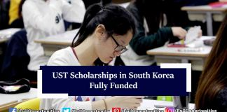 UST Scholarships in South Korea