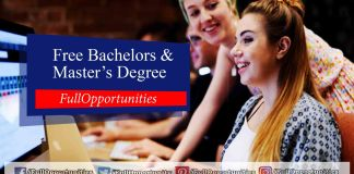 Free Bachelors and Master's Degree