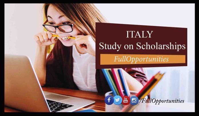 Scholarships in italy 2020