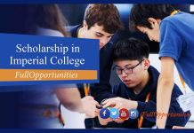 PhD Scholarships at Imperial College London