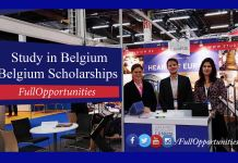Scholarships in Belgium