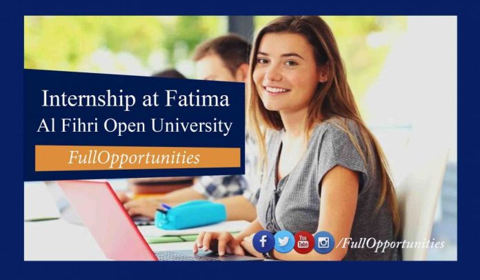 Internship at Fatima Al Fihri Open University