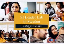 SI Leader Lab in Sweden
