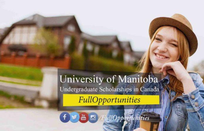 University of Manitoba Undergraduate Scholarships in Canada