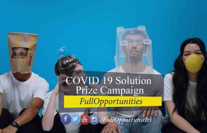 COVID 19 Solution Prize Campaign