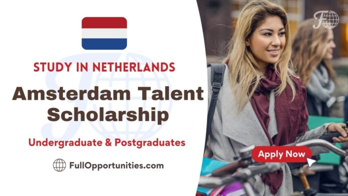 Amsterdam Talent Scholarship