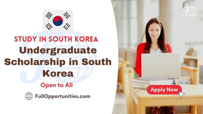 Undergraduate Scholarship at Myongji University