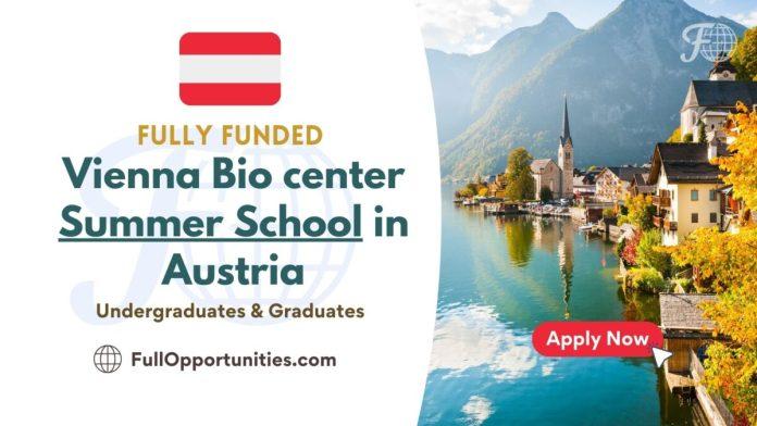 Vienna Bio center Summer School in Austria