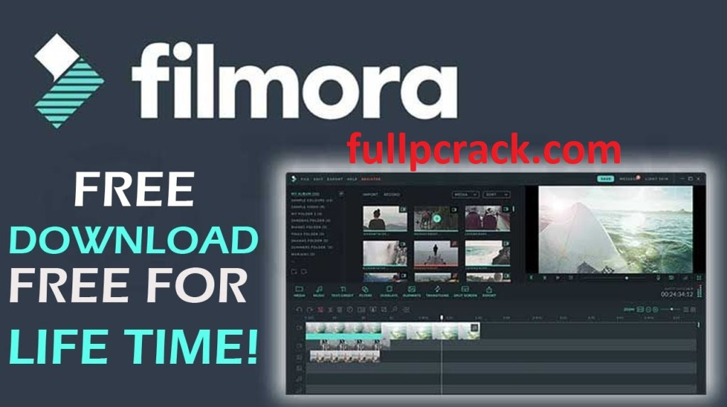 Wondershare Filmora Crack 10.0.6.8 With License Key {Full Working}