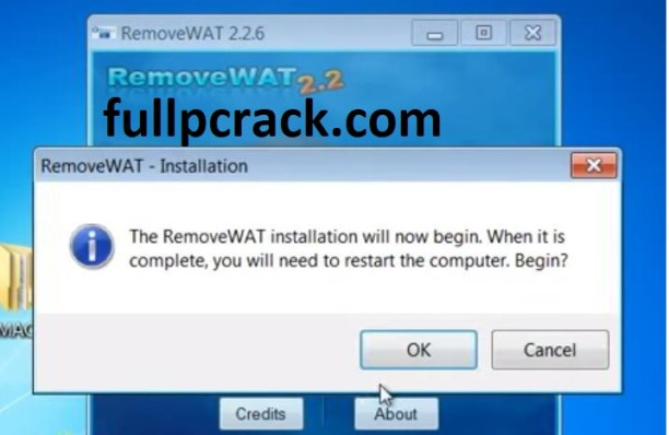 RemoveWAT 2.2.8 Activator Download For Windows 7