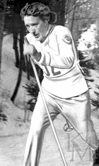 12. Любовь Козырева – советская лыжница, олимпийская чемпионка.