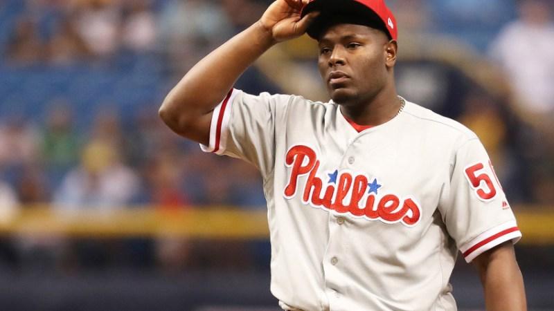 MLB: Philadelphia Phillies at Tampa Bay Rays