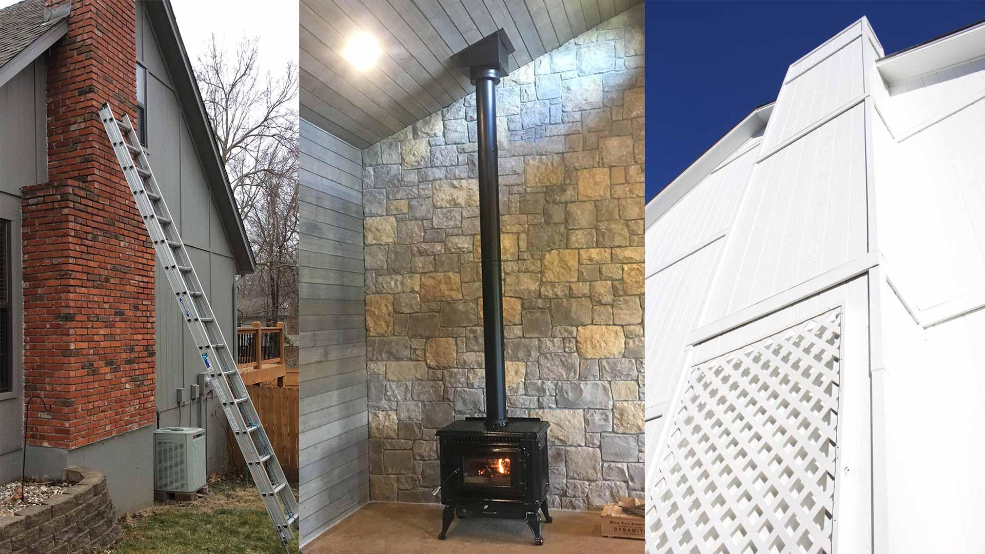 types of chimneys compare masonry