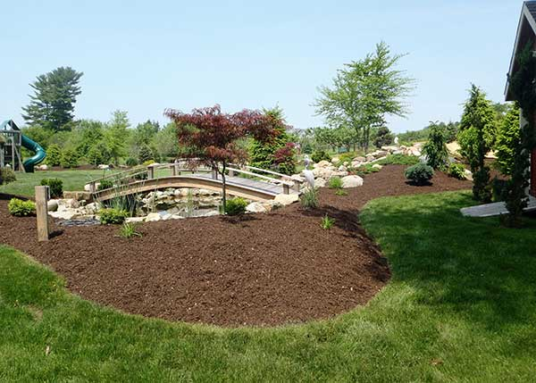 full service landscaping high quality