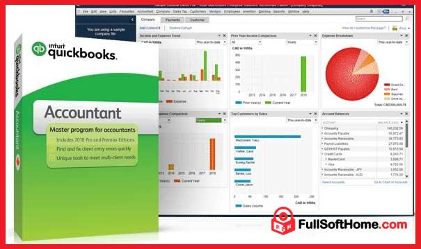 Intuit QuickBooks Enterprise Accountant 18.0 R3+UK Edition 18.0 R3+License Key [Windows+MacOS] [ Latest]