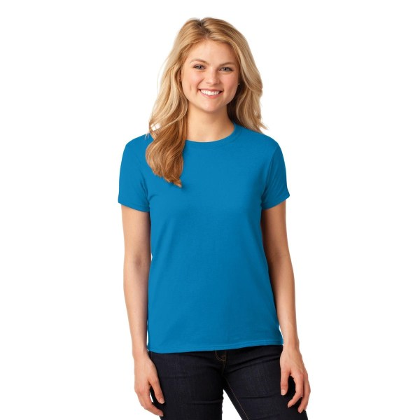 Gildan 5000L Ladies Heavy Cotton TShirt Sapphire