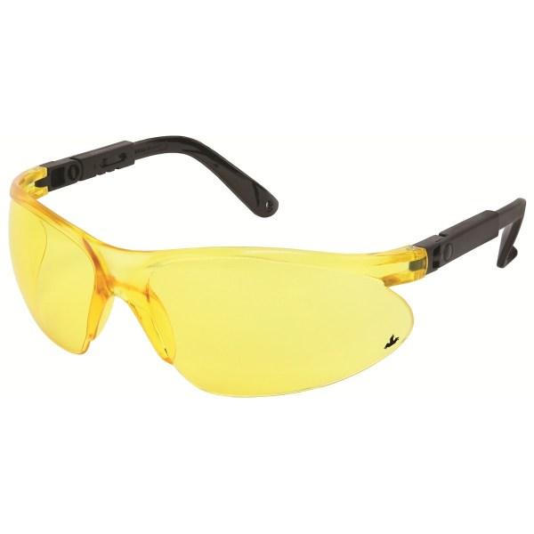 Crews Ct93214 Citation 932 Safety Glasses - Black Frame