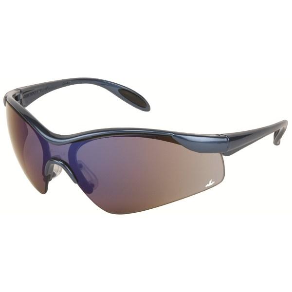 Safety Glasses Blue Mirror Lenses