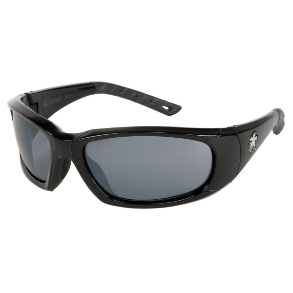 Crews Forceflex 3 Safety Glasses - Black Frame Gray Anti
