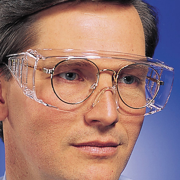 Crews Yukon XL Safety Glasses - Clear Uncoated Lens - Fits ...