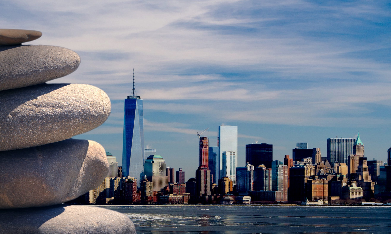 the New York skyline