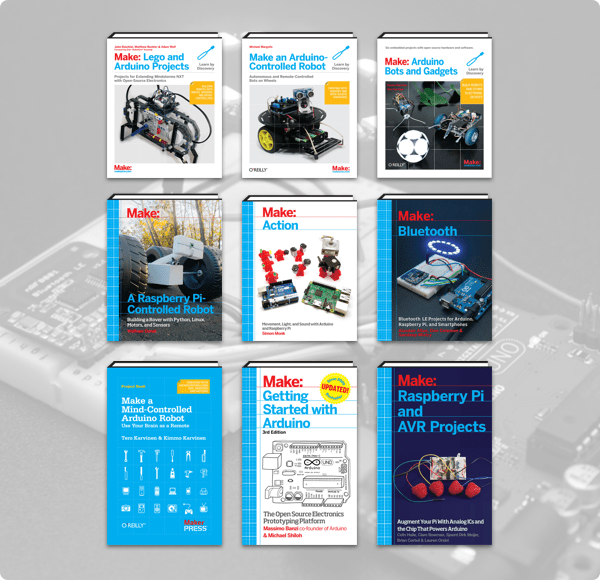 The Humble Book Bundle: Microcontrollers Raspberry Pi & Arduino by Make: