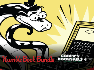 Pay what you want to learn programming in The Humble Book Bundle: Coder's Bookshelf by No Starch Press!
