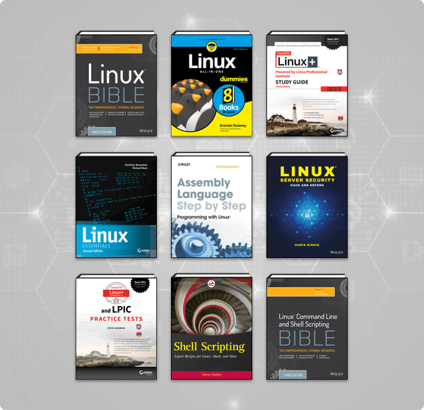 The Humble Book Bundle: Linux by Wiley