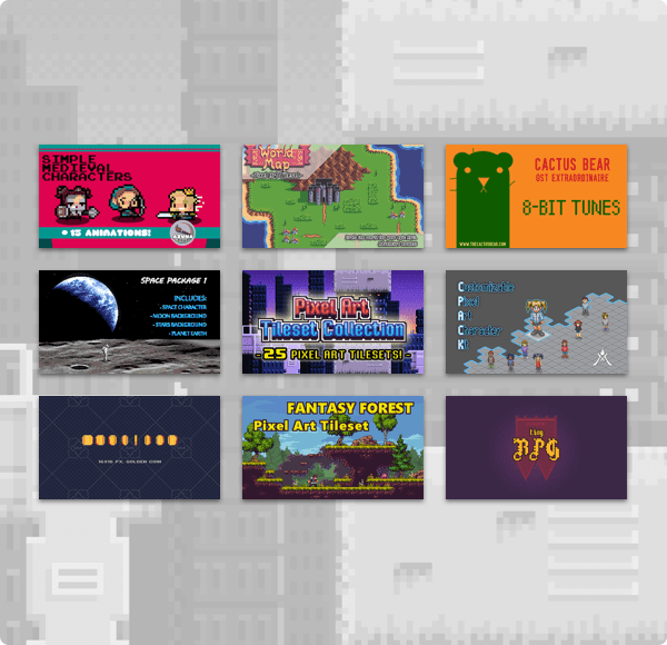 The Humble 8-Bit Pixel Game Dev Bundle