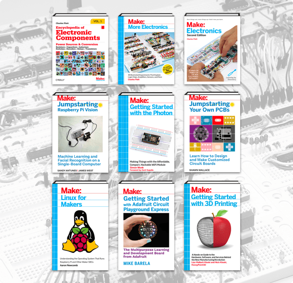 The Humble Book Bundle: Electronics + 3D Printing by Make: