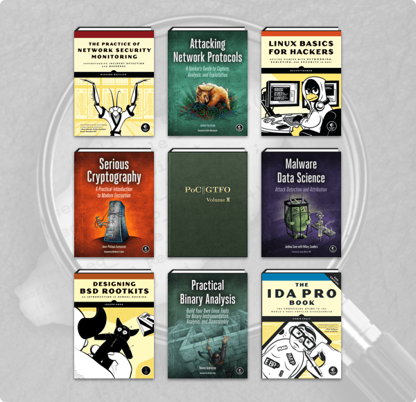 The Humble Book Bundle: Hacking 2.0 by No Starch Press