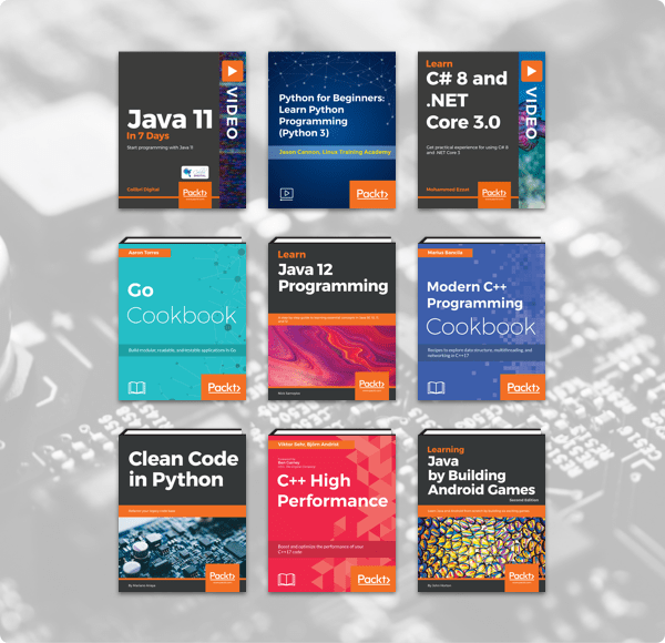 The Humble Book Bundle: Programming by Packt!