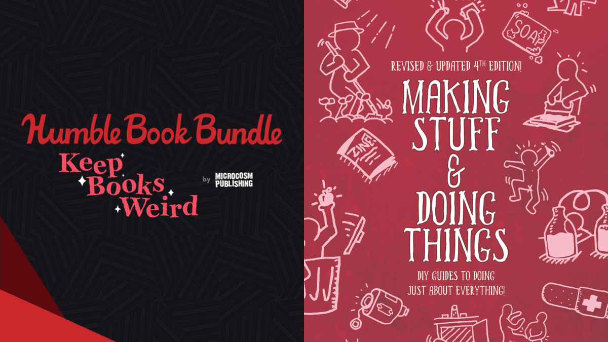 Pay what you want for The Humble Book Bundle: Keep Books Weird by Microcosm Publishing