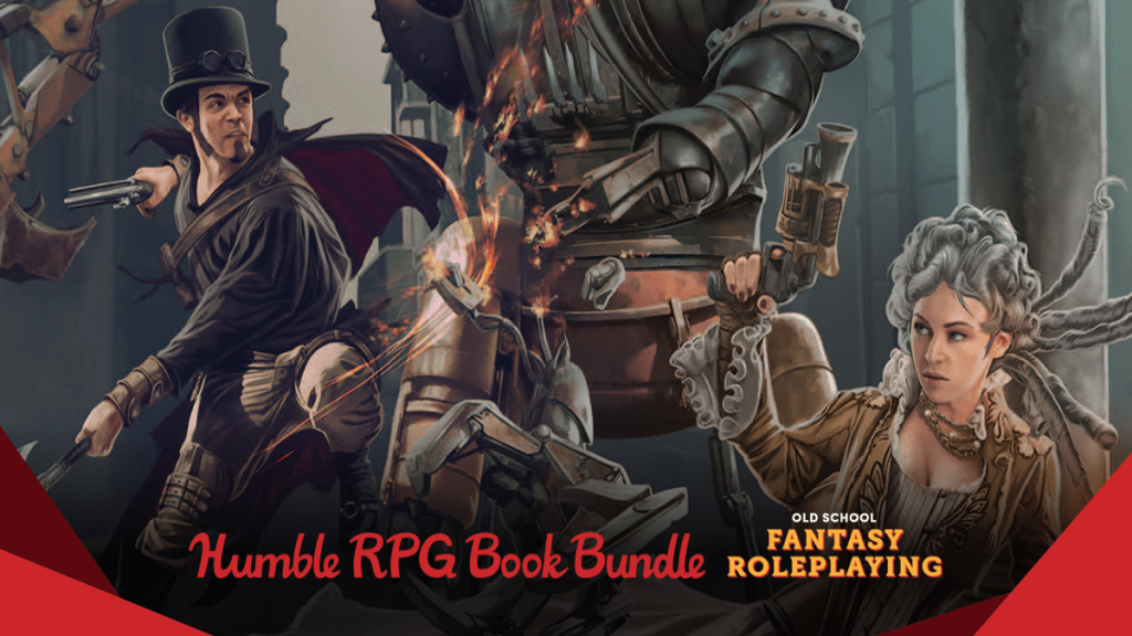 Pay what you want for The Humble RPG Book Bundle: Old School Fantasy Roleplaying!
