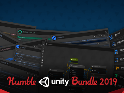 Pay what you want for The Humble Unity Bundle 2019 and learn the Unity game engine and development!