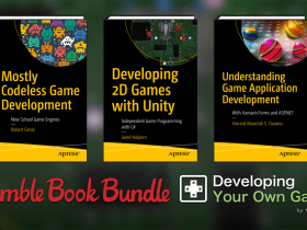 Pay what you want for Humble Book Bundle: Developing Your Own Games by Springer - Unity, Android, iOS, Windows, GameMaker, Arcade, etc.