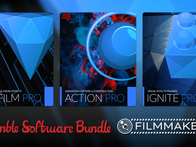 Pay what you want for The Humble Software Bundle: Filmmakers