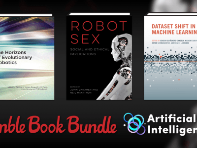 Pay just $1 or more for the Humble Book Bundle: Artificial Intelligence by MIT Press!
