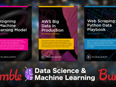 Bundles start at just $1 - Online courses through Pluralsight in the Humble Data Science & Machine Learning Bundle!