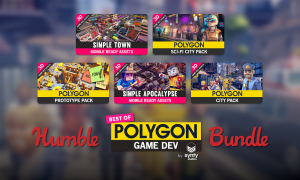 Starts at $1 - The Humble Best of POLYGON Game Dev Bundle, create a polygonal style game with this bundle of low poly asset packs!