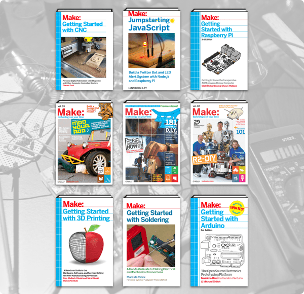 The Humble Book Bundle: Jumpstart Your Maker Space by Make: Community