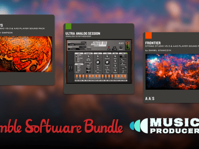 Just $1 - Humble Software Bundle: Music Producer - Strum Session, Lounge Lizard Session, Ultra Analog Session, etc.