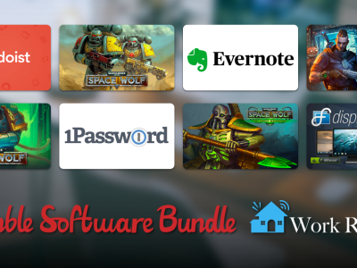 Just $1 - Get Evernote, 1Password Families & Teams, Todoist Premium, Steam games, and more in The Humble Software Bundle: Work Remote