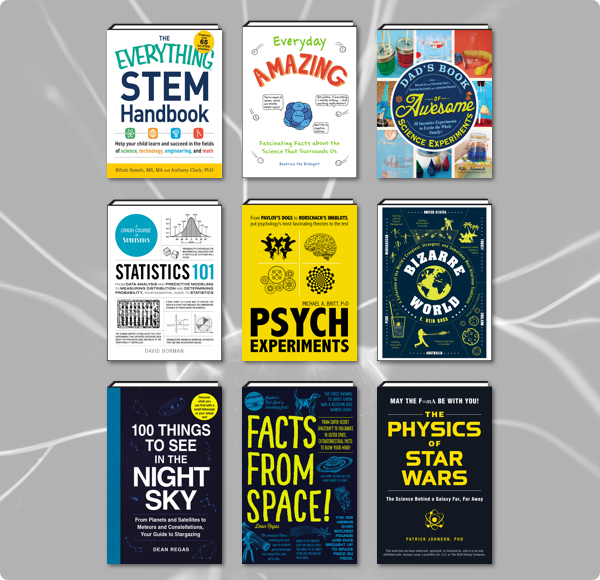 The Humble Book Bundle: Fun with STEM by Adams Media